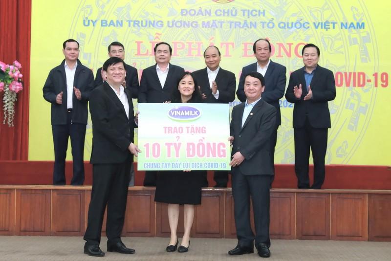 Vinamilk dẫn đầu Top 10 thương hiệu mạnh nhất Việt Nam - ảnh 1