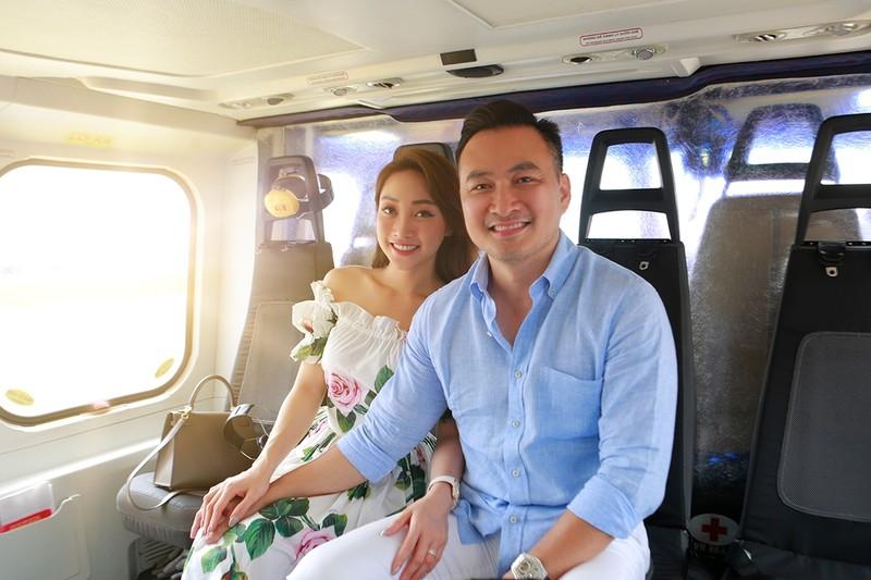 Diễn viên Chi Bảo đáp trực thăng ngắm Novaworld Phan Thiet - ảnh 1