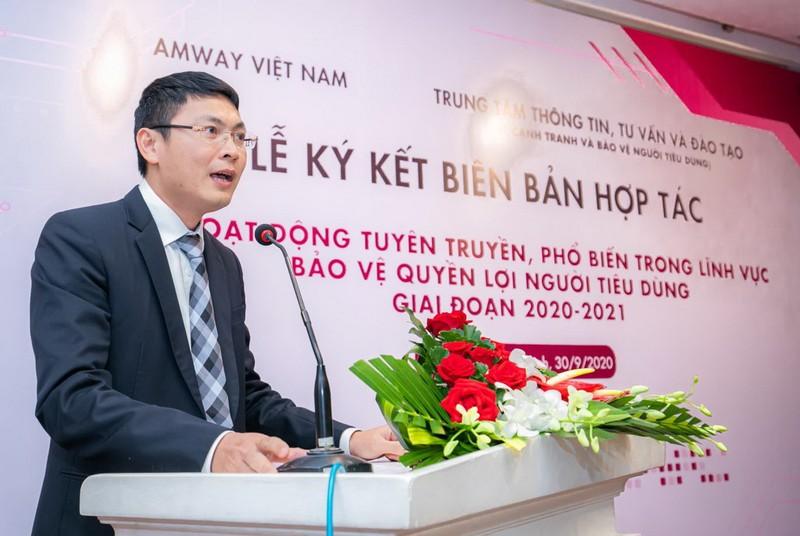 Amway Việt Nam hợp tác tuyên truyền để bảo vệ người tiêu dùng - ảnh 1