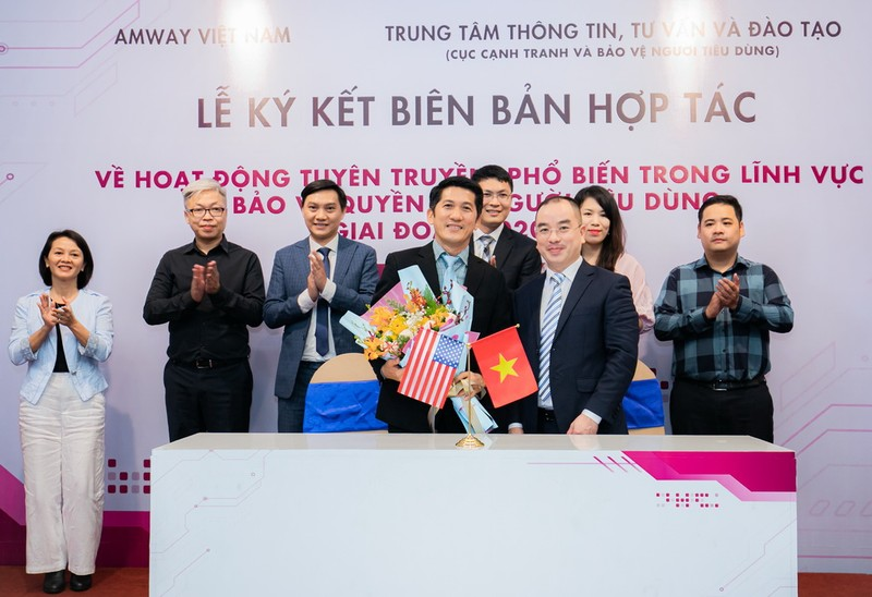 Amway Việt Nam hợp tác tuyên truyền để bảo vệ người tiêu dùng - ảnh 2
