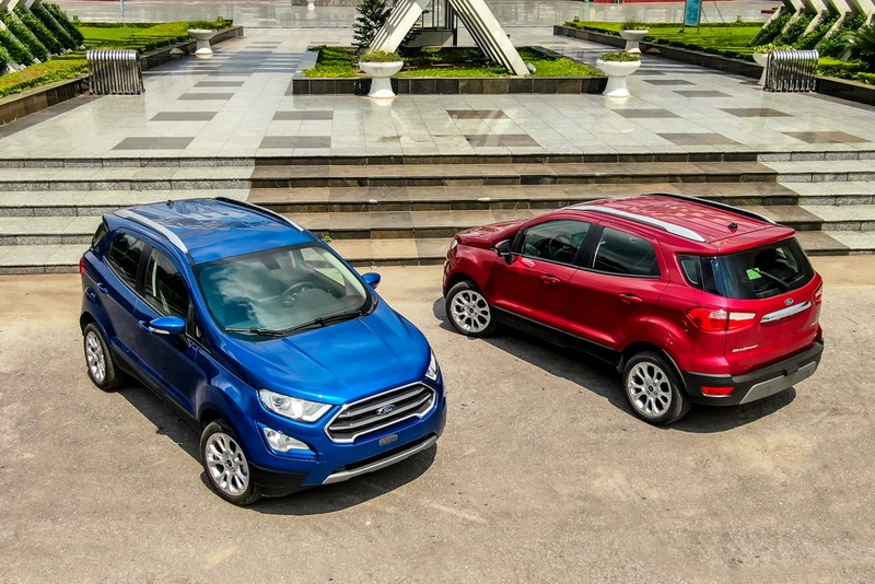 Ford EcoSport 2020: đa năng hơn và tiện nghi hơn - ảnh 1
