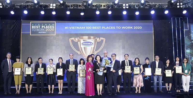 Vinamilk được bình chọn: Nơi làm việc tốt nhất Việt Nam 2020 - ảnh 1