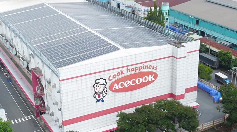 """Acecook sử dụng """"năng lượng xanh"""" từ điện mặt trời - ảnh 1"""