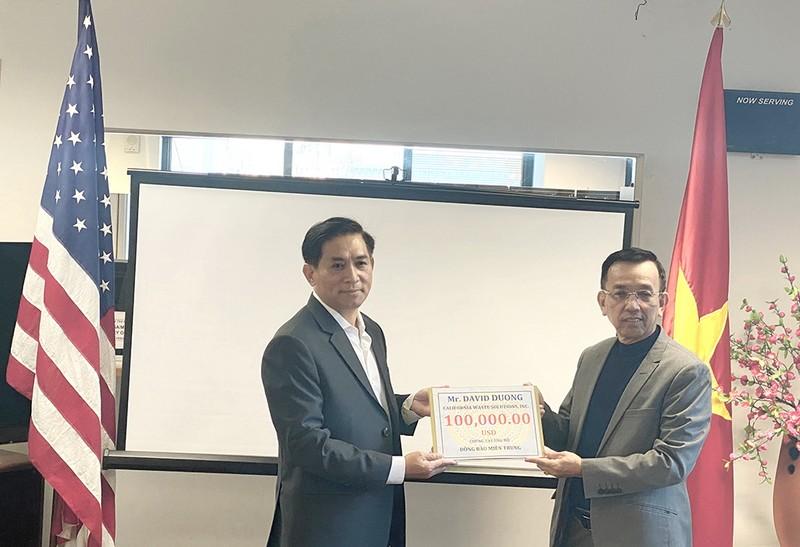Ông David Dương tặng 120.000 USD cho đồng bào miền Trung - ảnh 1