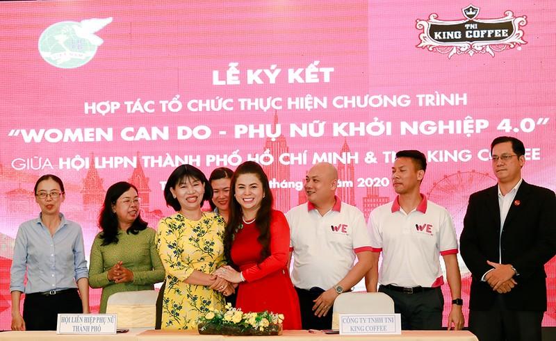TNI King Coffee giúp chị em khởi nghiệp chỉ 5 triệu đồng - ảnh 1