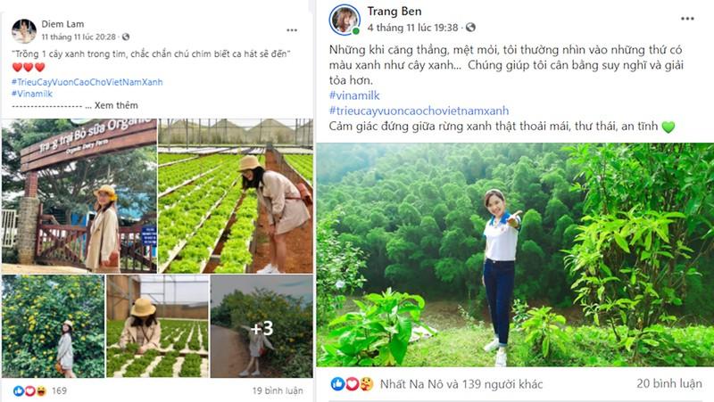 """Kết thúc đẹp của chiến dịch online """"Triệu cây xanh vươn cao"""" - ảnh 2"""