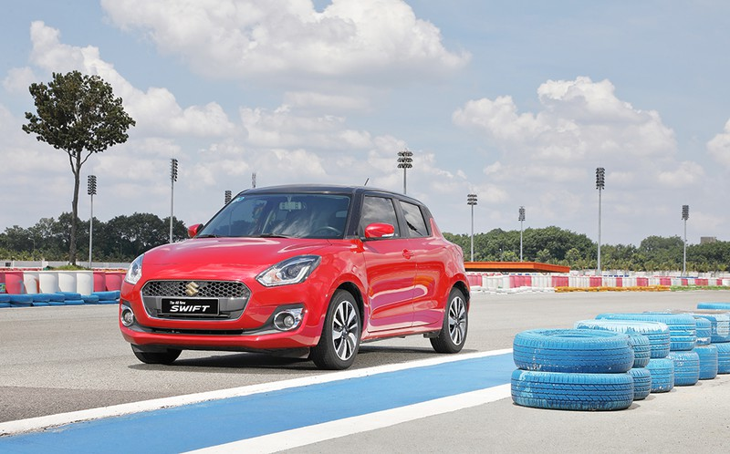 Suzuki Swift, mẫu hatchback thời trang mang thiết kế châu Âu - ảnh 3