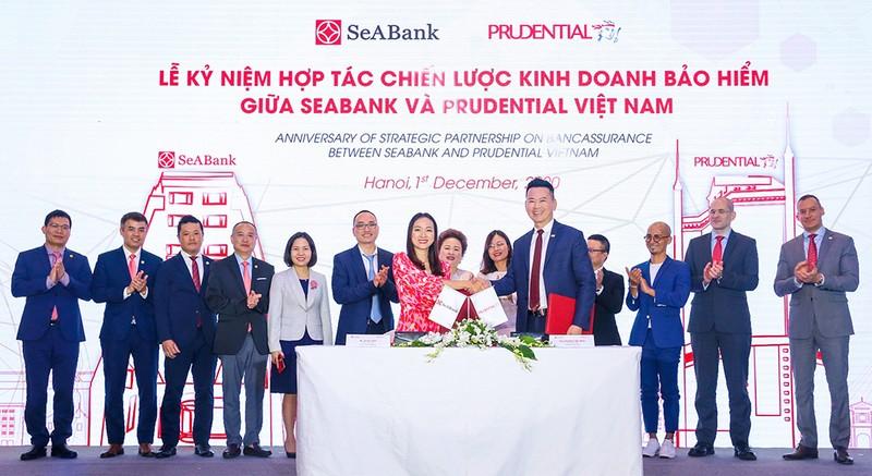 Prudential và SeABank tăng trải nghiệm sản phẩm bảo hiểm số - ảnh 1
