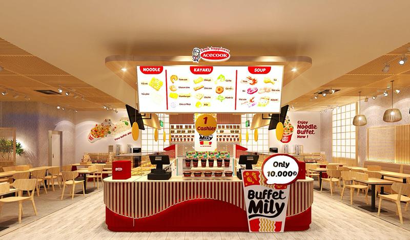 """Sắp khai trương """"Nhà hàng Acecook Buffet Mì ly"""" đầu tiên - ảnh 1"""