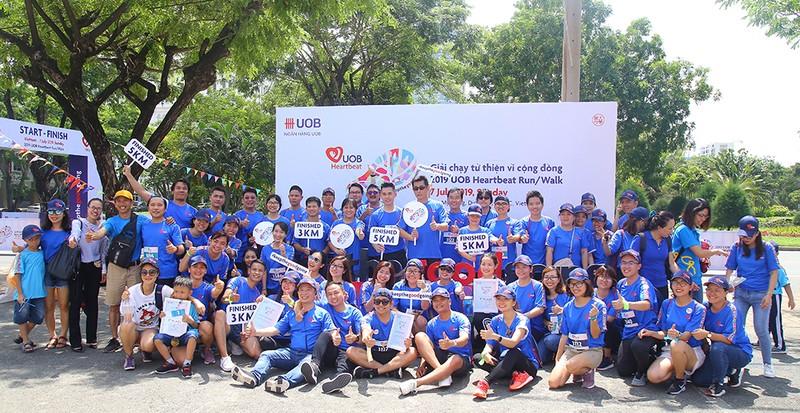 Giải chạy bộ trực tuyến gây quỹ giúp trẻ em của UOB - ảnh 1