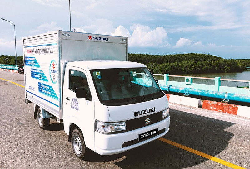 """Vua xe tải nhẹ"" Suzuki: nhỏ gọn, hiệu quả giờ cao điểm - ảnh 1"