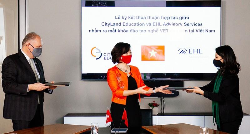 Cityland Education hợp tác EHL đào tạo nhà hàng, khách sạn - ảnh 1