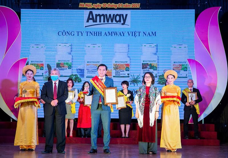 """Amway Việt Nam: """"Sản phẩm vàng vì sức khỏe cộng đồng"""" - ảnh 1"""