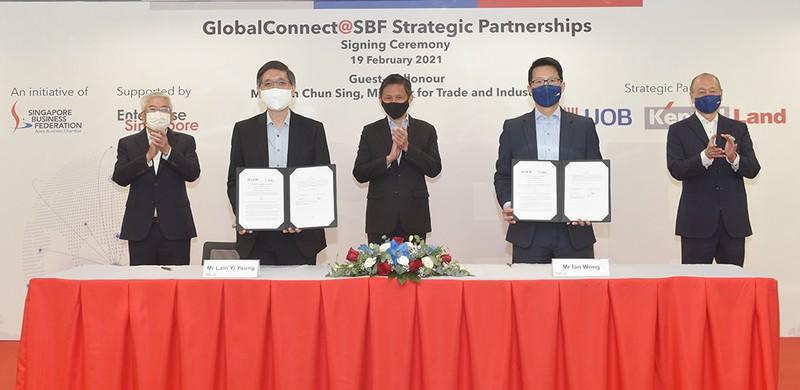 Ngân hàng UOB thúc đẩy đầu tư Singapore vào Việt Nam - ảnh 1