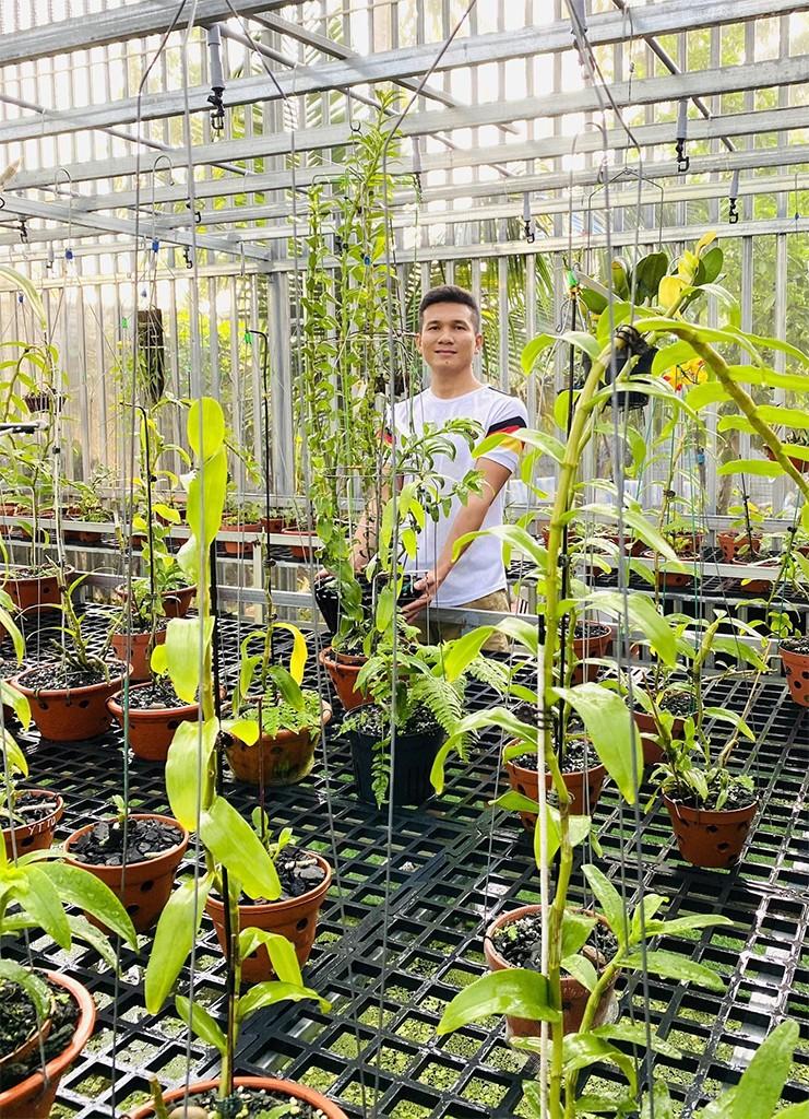 Tài Trần: khởi nghiệp tay trắng đến chủ vườn lan đột biến - ảnh 1