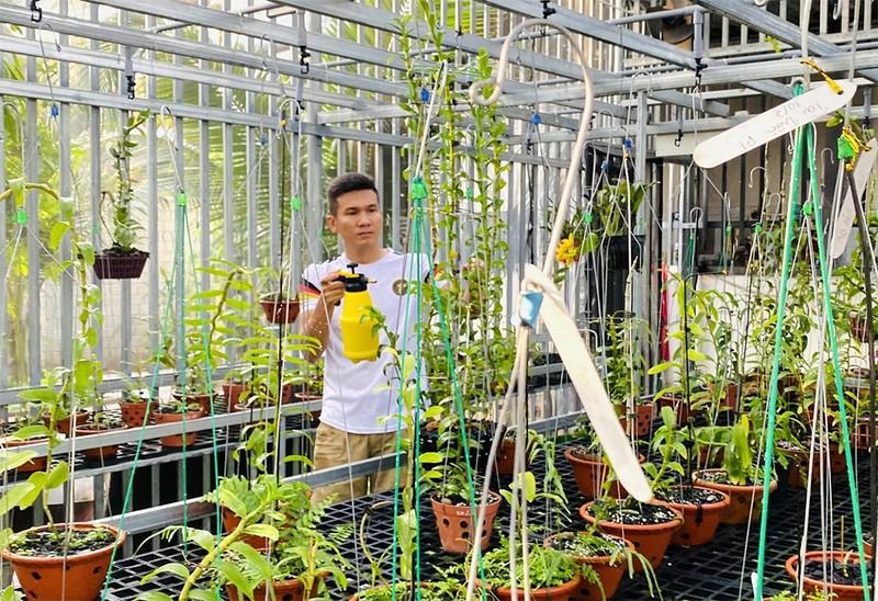 Tài Trần: khởi nghiệp tay trắng đến chủ vườn lan đột biến - ảnh 3