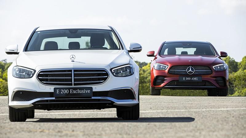 Mercedes-Benz Việt Nam ra mắt mẫu xe E-Class nâng cấp mới - ảnh 1