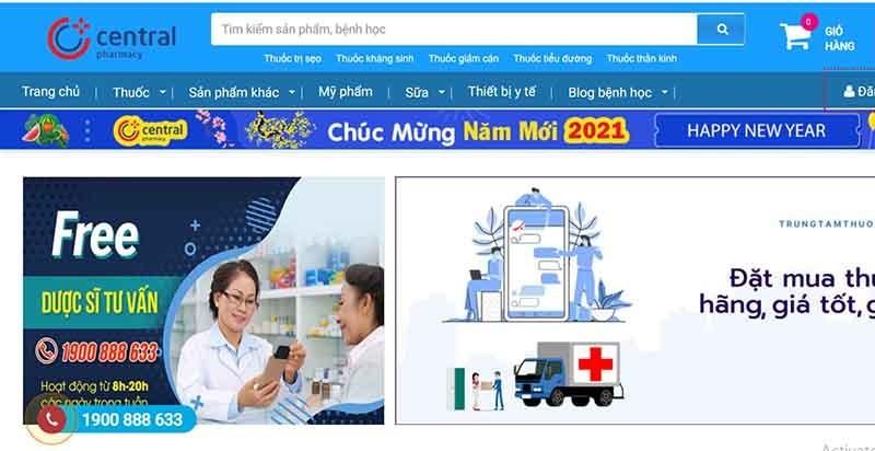 Trung tâm Thuốc Central Pharmacy: nhà thuốc online uy tín ở HN - ảnh 2