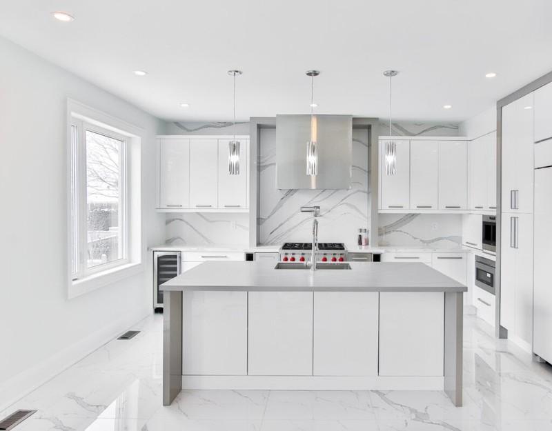 Tủ bếp Acrylic bóng gương và những ưu điểm vượt trội - ảnh 2