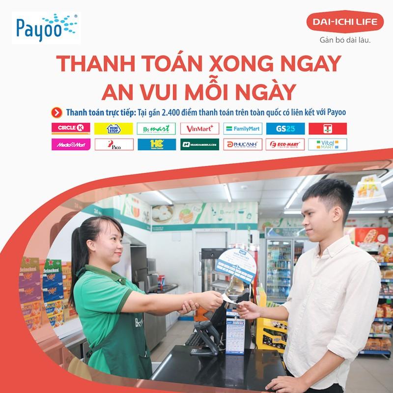 Dai-ichi Life Việt Nam hợp tác với kênh thanh toán Payoo - ảnh 1