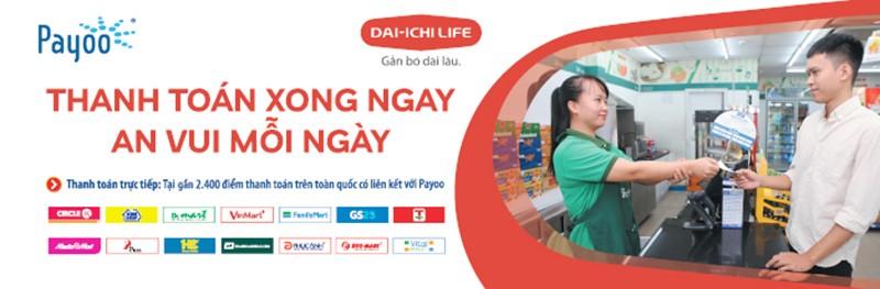 Dai-ichi Life Việt Nam hợp tác với kênh thanh toán Payoo - ảnh 2