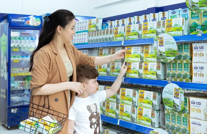 Vinamilk: liên tục nhiều năm dẫn đầu ngành hàng sữa nước - ảnh 1