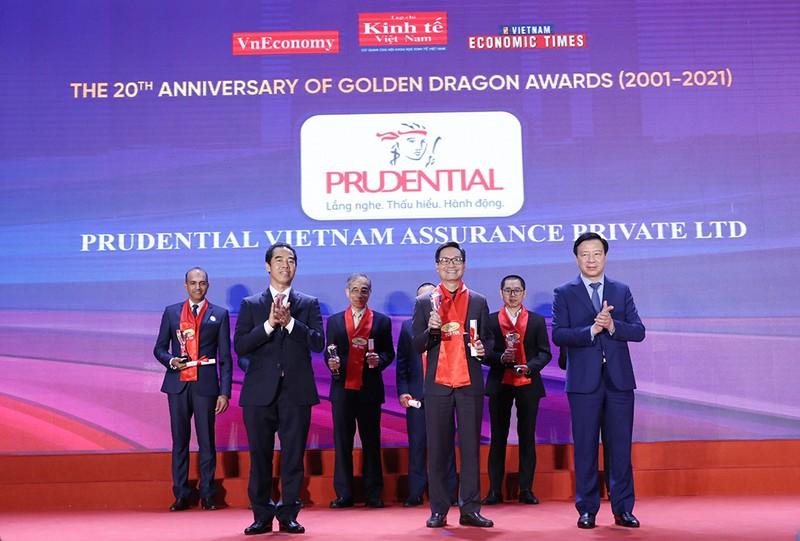Prudential: TOP 10 Doanh nghiệp FDI phát triển bền vững - ảnh 1