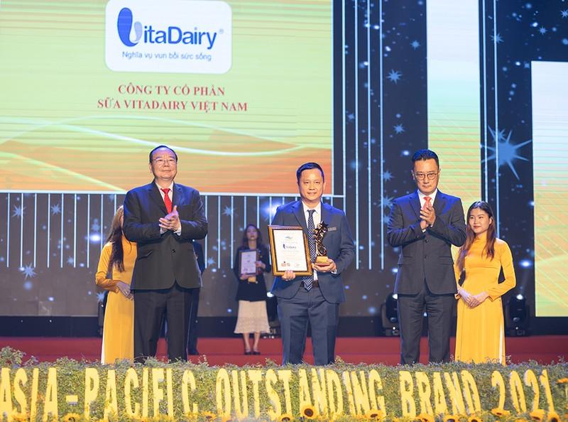 VitaDairy: Thương hiệu tiêu biểu châu Á-Thái Bình Dương 2021 - ảnh 1