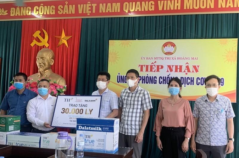 Tập đoàn TH ủng hộ 30.000 sản phẩm sức khỏe để chống COVID-19 - ảnh 1
