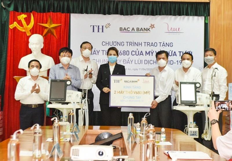Tập đoàn TH ủng hộ 30.000 sản phẩm sức khỏe để chống COVID-19 - ảnh 2