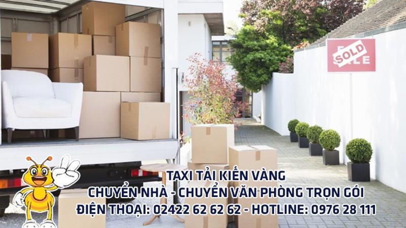Dịch vụ Taxi tải Hà Nội - Sài Gòn của Kiến Vàng - ảnh 1