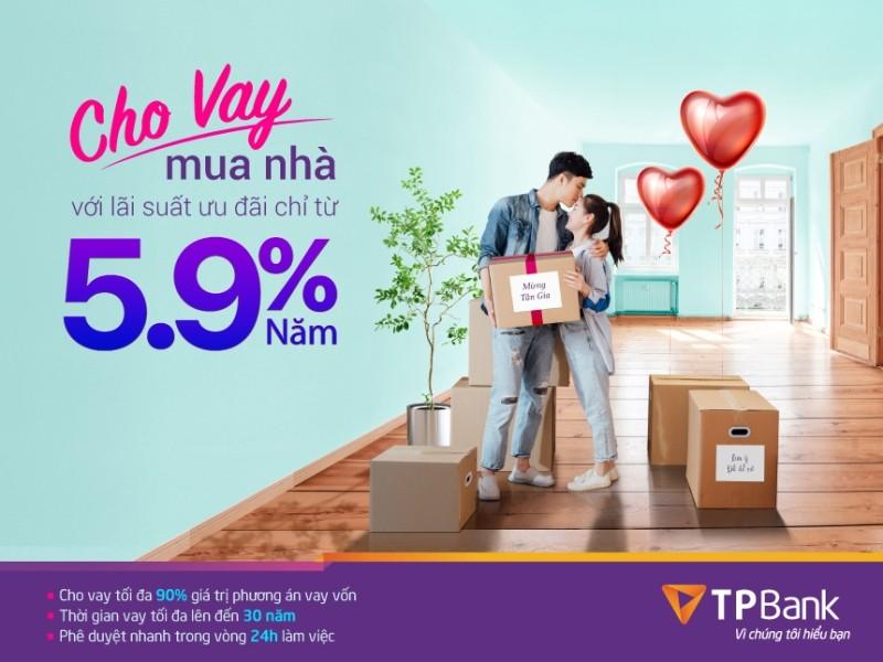 TPBank cho vay mua nhà với lãi suất ưu đãi chỉ 5,9%/năm - ảnh 1