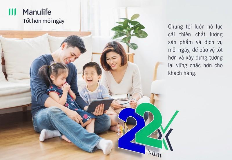 """Manulife Việt Nam tiếp tục cam kết vì cuộc sống """"Tốt hơn mỗi ngày"""" - ảnh 1"""