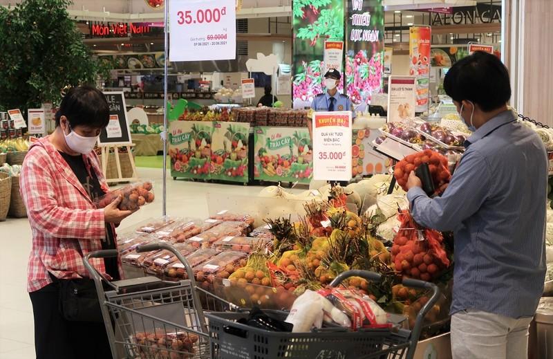 Vải thiều Bắc Giang được bán tại AEON Việt Nam và Nhật Bản - ảnh 1