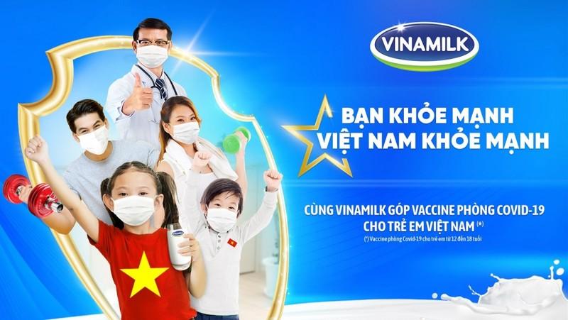 """Vinamilk khởi động chiến dịch """"Bạn khỏe mạnh, Việt Nam khỏe mạnh"""" - ảnh 1"""