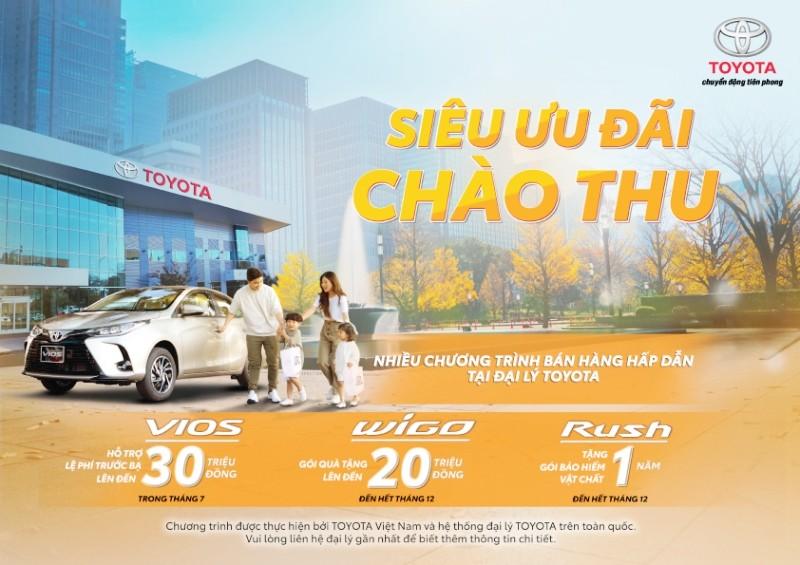 Toyota: siêu ưu đãi cho khách hàng mua Wigo phiên bản mới - ảnh 1