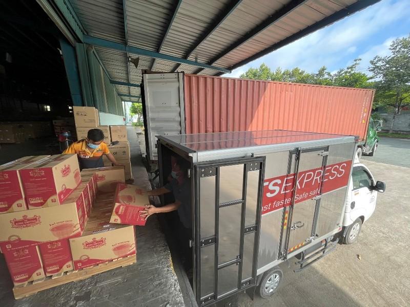 TNI King Coffee tiếp tục hỗ trợ y bác sĩ tuyến đầu TP.HCM, Bình Dương - ảnh 1