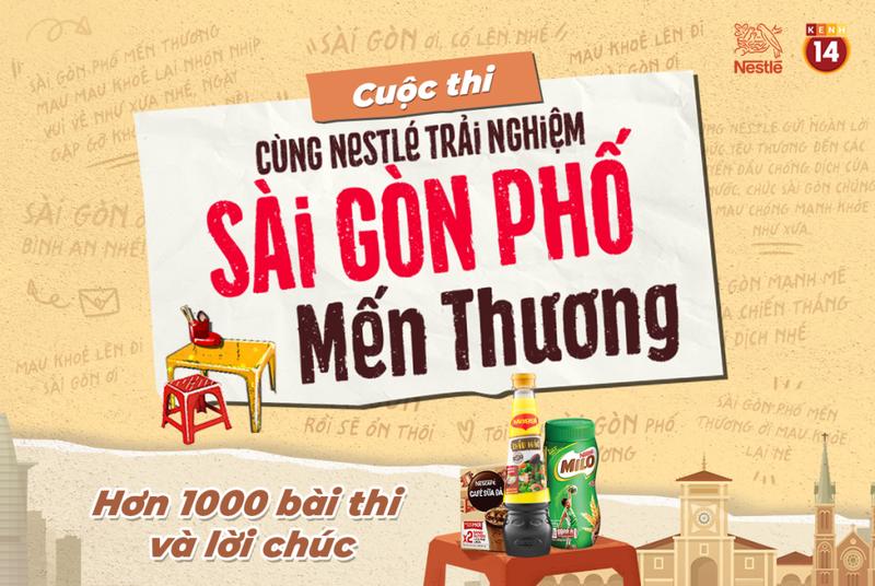 Nestlé Việt Nam hỗ trợ hơn 8.000 phần quà đến tình nguyện viên Sài Gòn - ảnh 1