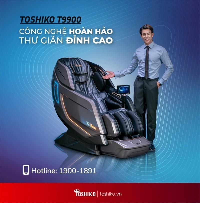 Ghế massage Toshiko - Chăm sóc sức khỏe gia đình Việt - ảnh 1