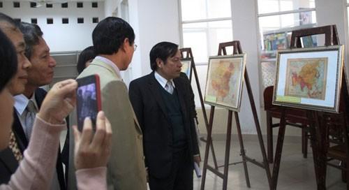 Triển lãm Hoàng Sa - Chủ quyền Việt Nam - ảnh 1