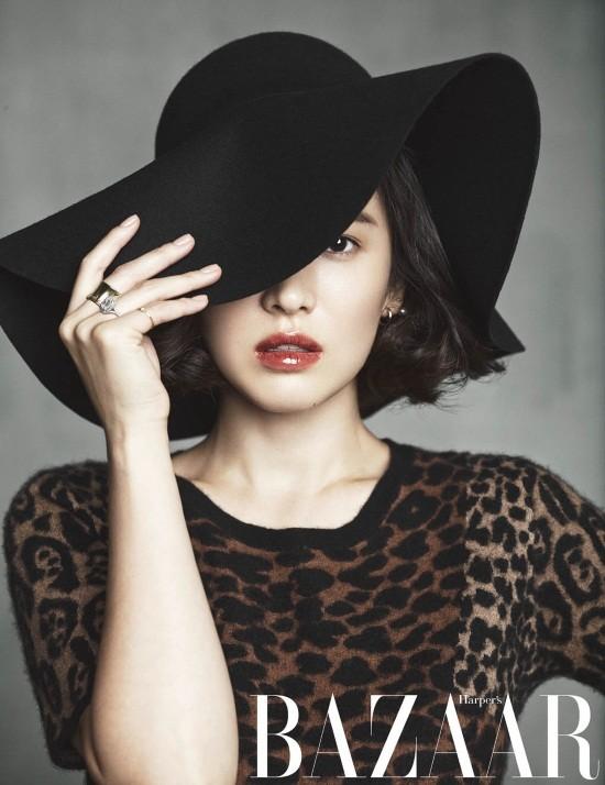 5 mỹ nhân trang bìa tạp chí thời trang xứ Hàn 2013 - ảnh 4