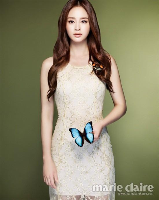 5 mỹ nhân trang bìa tạp chí thời trang xứ Hàn 2013 - ảnh 9