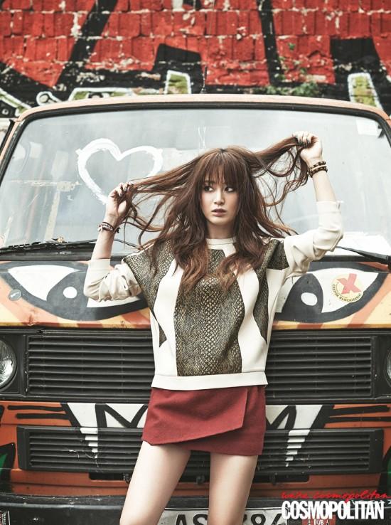 5 mỹ nhân trang bìa tạp chí thời trang xứ Hàn 2013 - ảnh 10