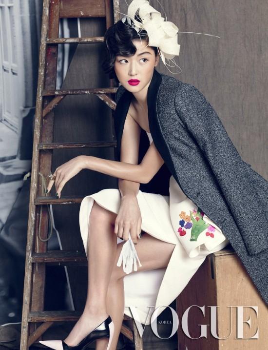 5 mỹ nhân trang bìa tạp chí thời trang xứ Hàn 2013 - ảnh 19