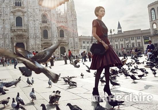 5 mỹ nhân trang bìa tạp chí thời trang xứ Hàn 2013 - ảnh 22