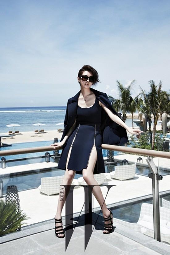 5 mỹ nhân trang bìa tạp chí thời trang xứ Hàn 2013 - ảnh 24