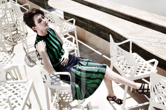 5 mỹ nhân trang bìa tạp chí thời trang xứ Hàn 2013 - ảnh 25