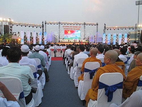 Tây Ninh công bố thành lập thành phố mới - ảnh 2