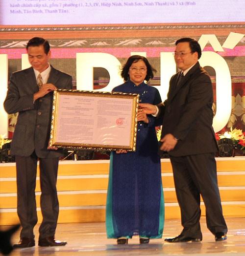 Tây Ninh công bố thành lập thành phố mới - ảnh 1