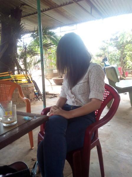 Nạn nhân Đào Xuân Nguyệt.
